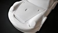 Porsche Karosse GT3 Glasklar 2,0mm Radstand 510mm