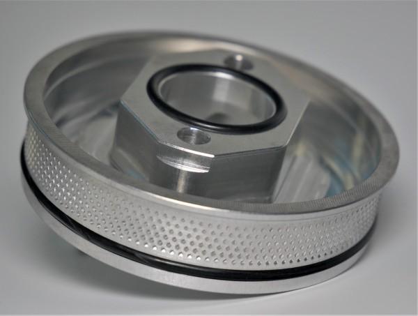 Luftfilter Adapter Alu