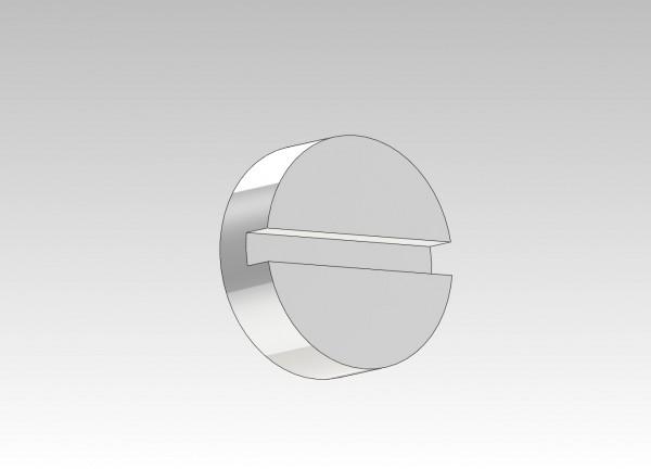 Schraube zum einstellen der Bremsklotz