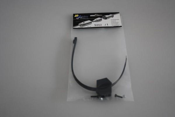 Halterung Halbschalen für Schalldämpfer-Kabelbinder