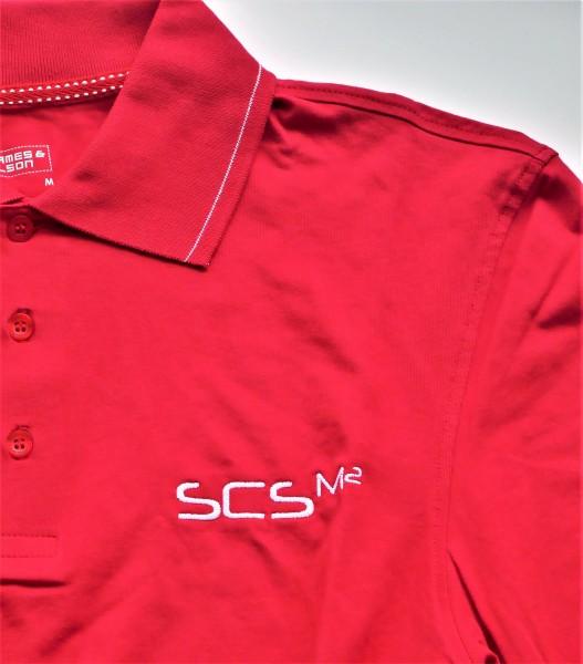 "Polo Shirt mit Stick ""SCS M2"""