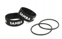 SAMBA Ersatzgummiband mit Logo schwarz
