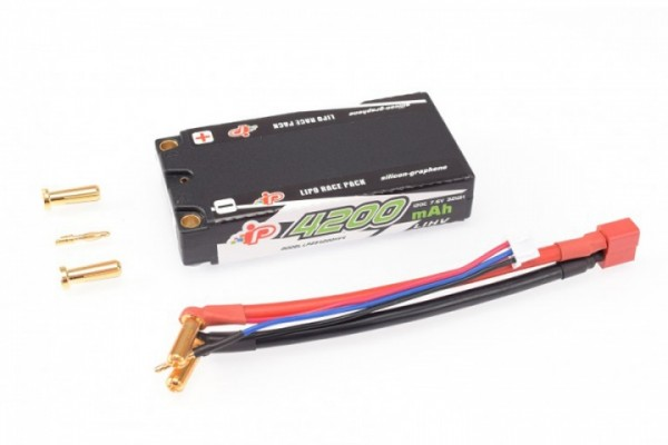 Intellect Lipo Fahrakku 7,6V 4200mAh 120C Shorty Low Profile LiHV 155g/5mm
