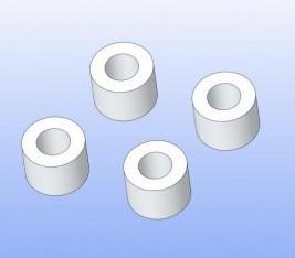 Zentrierbuchsen Bremssattel 4x7,5x5,5mm