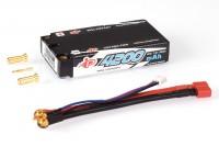 Intellect Lipo 7,6V 4200mAh 120C Long Runtime LCG Shorty LiHV - 154g/5mm