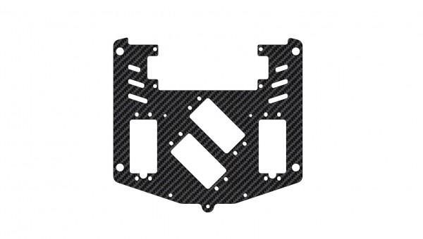Servoplatte XR4 für 2 kleine Lenkservos