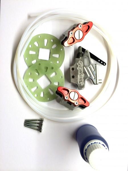 Hydraulik Bremsenkit für vorne oder hinten