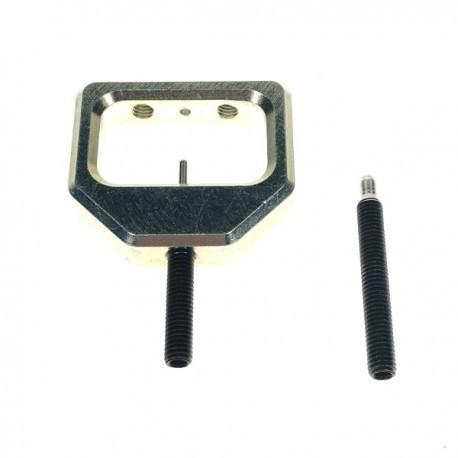 Vorrichtung zum Auspressen der Stifte am Bremszylinder