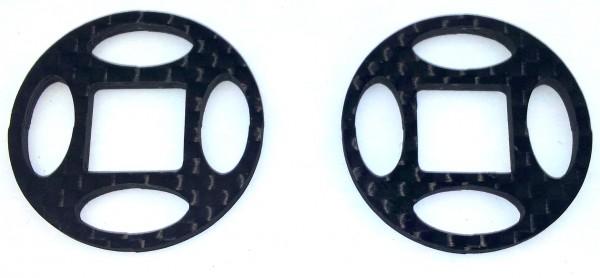Differentialscheibenset Carbon V3 (32mm) - für rutschige Strecken