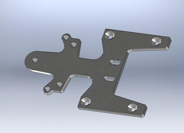 Vorderachsversteifung Aluminium XR2