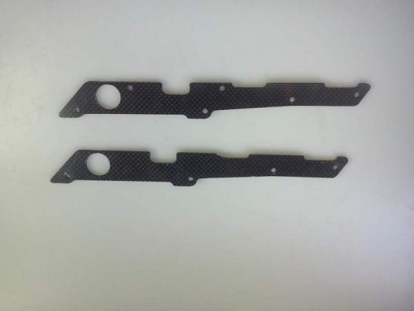 Seitliche Chassisversteifung Karbon 3mm
