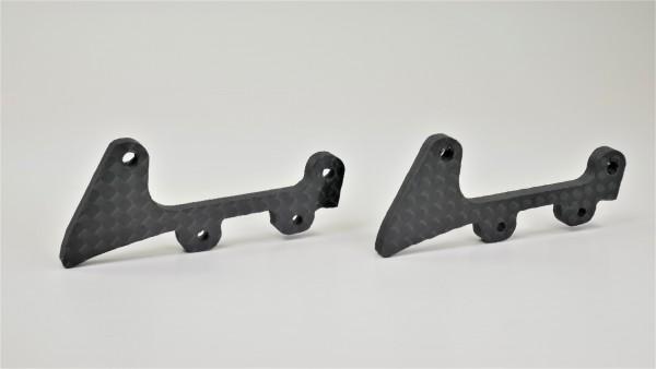 GT Flügelhalterung Unterseite Karbon (GT-C, ST02, Porsche, K-C6, K-AM)