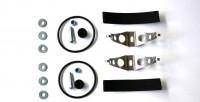 SAMBA Auspuff Befestigungsset für 50mm Rohr (Double)