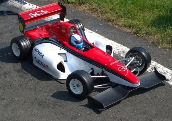 MOCA F1 bodyshell