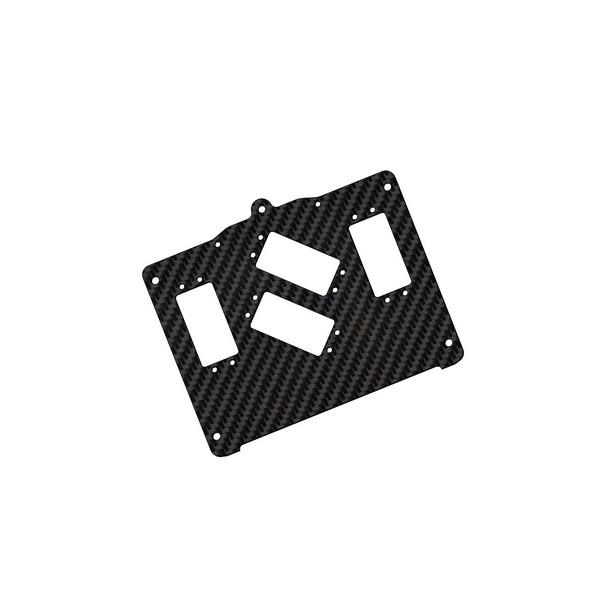 Servoplatte XR3S für 2 kleine Lenkservos