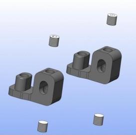 Stabihalterung hinten für Stabi 4mm XR3