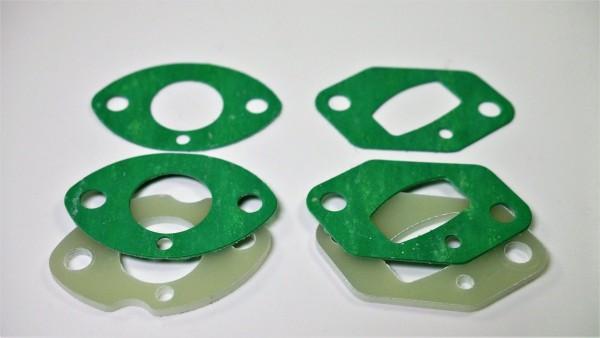 Isolier Platten & Dichtungsset für SCS M2 Power Insulator 25,5mm Set