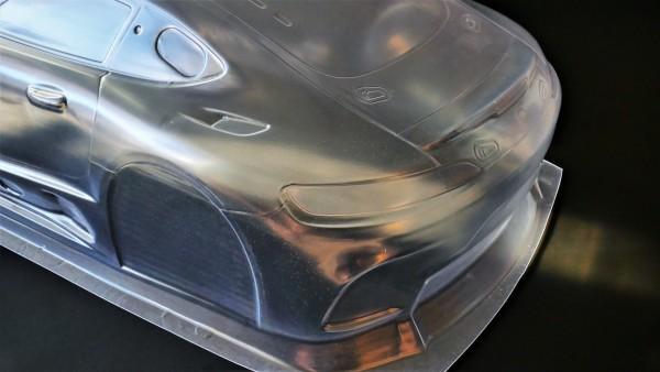 ST One GT3 535mm, HINTERTEIL EINZELND, glasklar