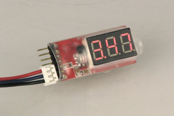 Lipo Monitor von 2S bis 6S