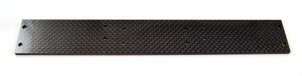 F1 Flügelträgerplatte 240mm, Karbon 4mm