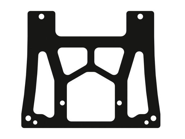 Auspuffhalter Karbon XR4 Plus