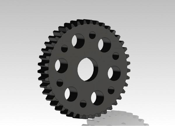 Zahnrad Del-ryn 39 Zähne CNC gefräst