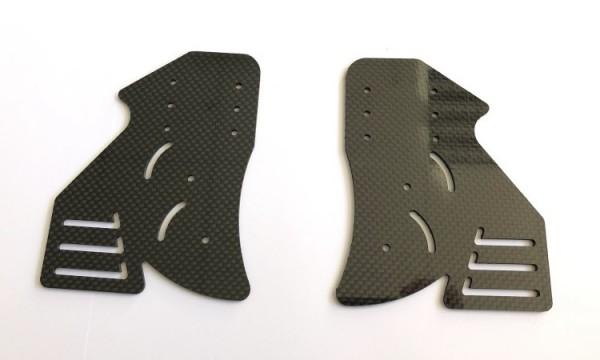 Karbon Außenplatten für Genius F1 Heckspoiler