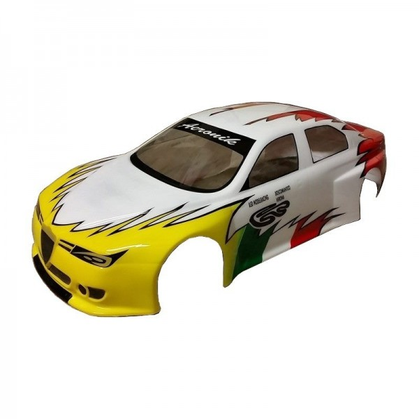 1,0mm Body Alfa Romeo 156 ETCC 2014 - EFRA Legal – unlackiert - transparent Lexan