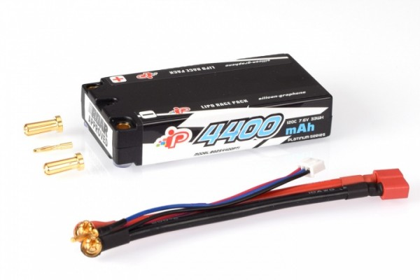Intellect Lipo 7,6V 4400mAh 120C LCG Shorty LiHV - 167g/5mm