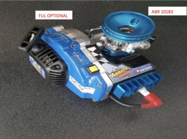Adapter blau AbbateRacing für alle gängigen Airboxen