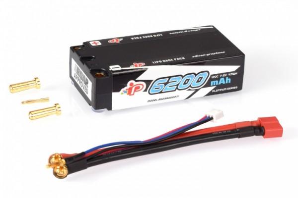Intellect Lipo 7,6V 6200mAh 120C Long Runtime Shorty LiHV - 215g/5mm